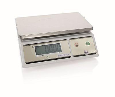 Digital Waage bis 15 kg, Teilung 1 g/min 20 g