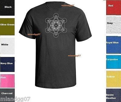 Sacred Geometry  Kabbalah Metatron T-Shirt Shirt  SIZES -
