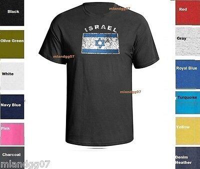 Israel Flag T-shirt - State of  Israel Flag T-Shirt  Israeli Jewish Shirt SIZES S-5XL