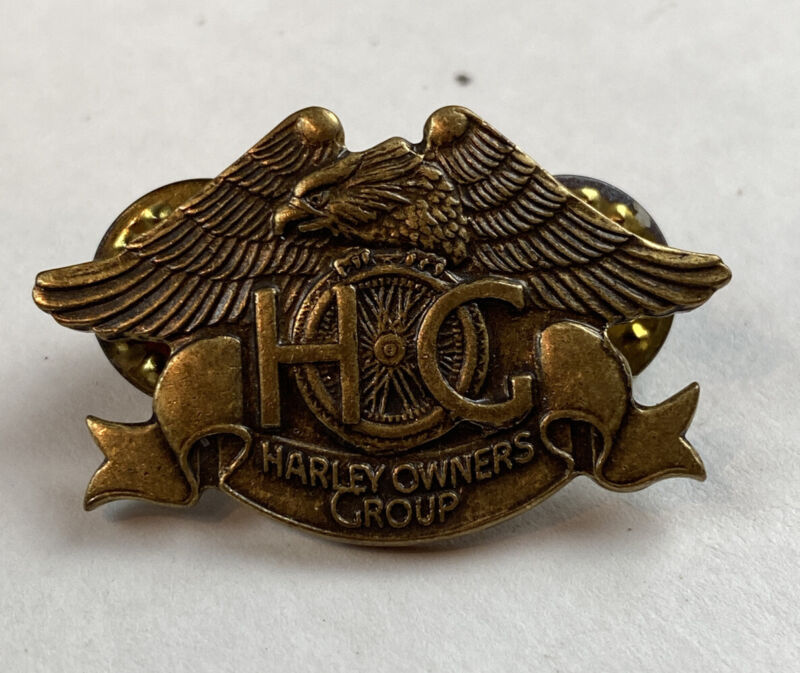 1993 Harley Davidson Harley Owners Group HOG Pin with Eagle NEW