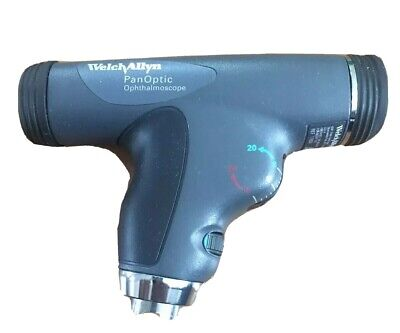 New Welch Allyn Model 11820 3.5v Panoptic Diagnostic Ophthalmoscope Head