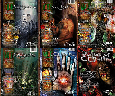 Worlds of Cthulhu - 6 Magazines for Call of Cthulhu - Complete, New & Rare