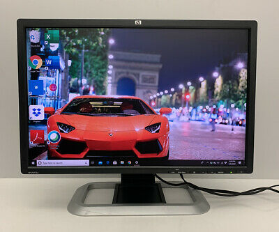"HP LP2475W 24"" Widescreen LCD Monitor 1920 x 1200 (with Stand and Cables)"