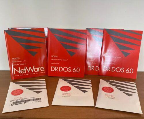 Novell Personal Netware Vintage Software SEALED DOS Windows Single User