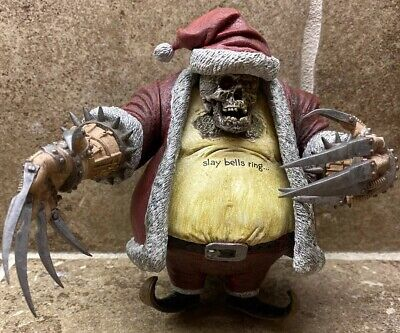 🔥2007 Mcfarlane's Twisted Christmas Santa Claus Action Figure BEST