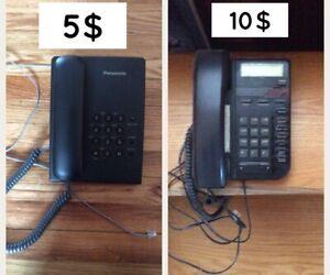 Téléphone panasonic et vista