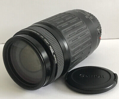 CANNON ZOOM LENS EF 75-300mm 1:5-4.9ft -  NEAR MINT!  One Owner