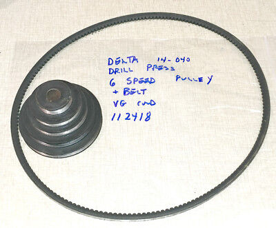 Delta 14-040 Drill Press Spindle Pulley Belt 112418