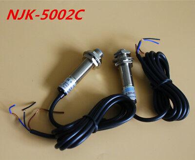 2pcs Njk-5002c Npnno 10mm Hall Effect Sensor Proximity Switch 6-36vdc Us Stock