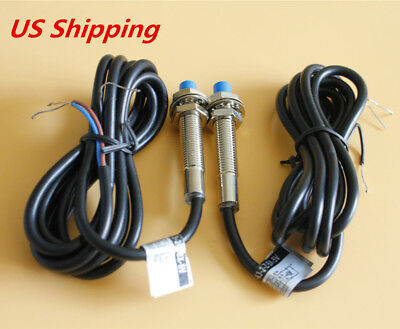 Lj8a3-2-zbx-5v Dc5v M8 Npn No Inductive Proximity Sensor Switch Us Shipping