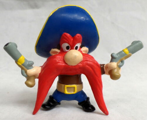 "Yosemite Sam pvc Figure Approx 2 x3""  Warner Brothers Looney Tunes wb Lot Group"