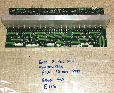 Emco F1 Cnc Mill Control Box Parts F1a113000 Pcb E11s