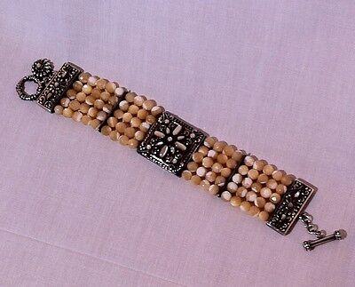 Five Strand Beaded Bracelet