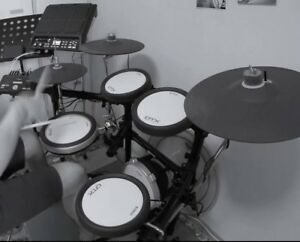 Drums yamaha electric dtx 582