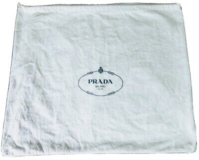 Two Prada dust bags! Sold together or separate