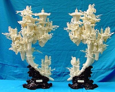 Factory Sale! Pair of Fairies Mountain Lanterns / Lamps (01A) - Only One