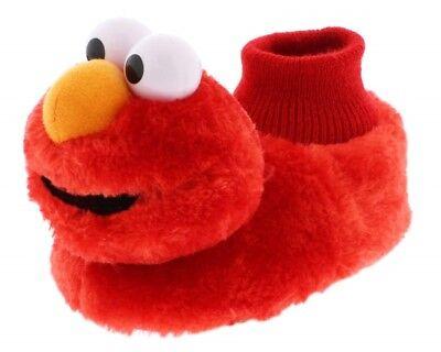 ELMO SESAME STREET Kids Plush Sock Top Slippers NWT Toddler's Size 5/6 or 9/10](Kids Elmo)