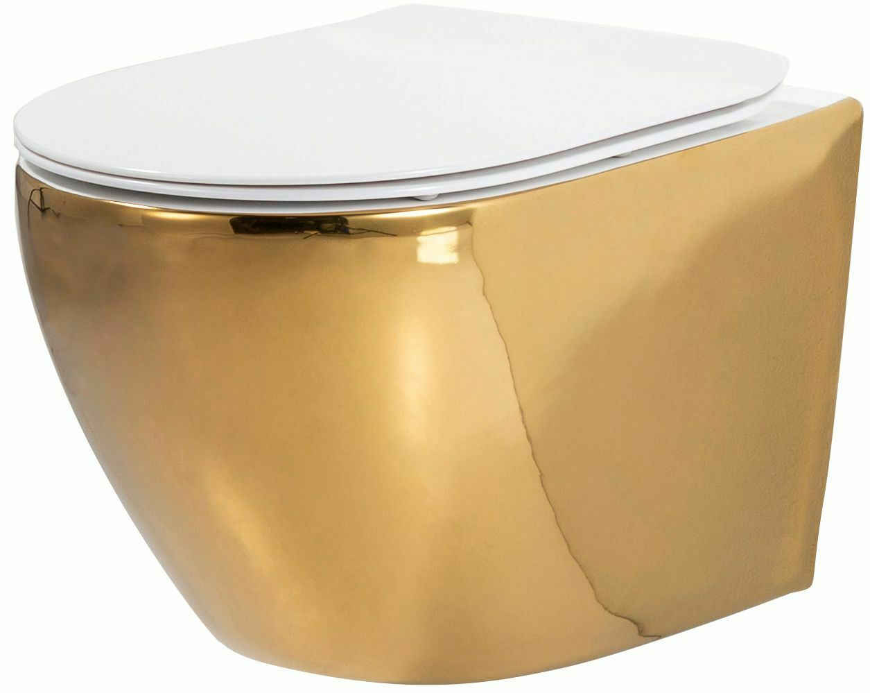 WandHänge WC Bidet Bad Keramik Sitz Randlos SoftClose CARLO MINI BASIC REA