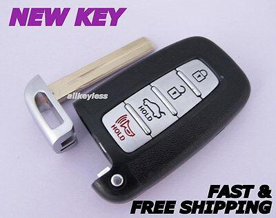 OEM HYUNDAI keyless entry smart remote fob transmitter SY5HMFNA04+NEW KEY INSERT