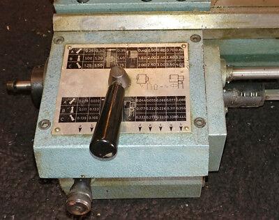 Emco Maximat V10-p Lathe Metric Threading Gearbox 1025