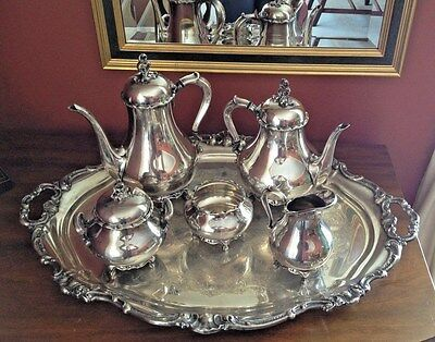 Tea/Coffee Pots & Sets, Silverplate, Silver, Antiques for sale ...