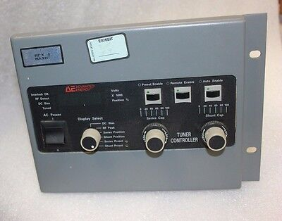 Advanced Energy Tcm Ii Rf Match Tuner Controller 3155039-002 Ae Azx Mb36