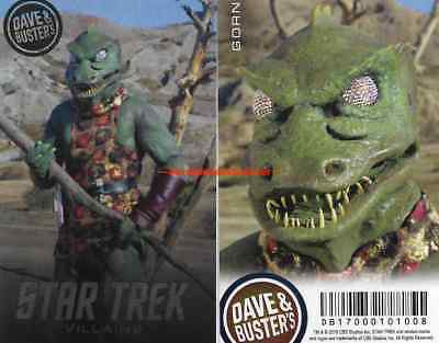 - Dave and Busters Star Trek Villains Series Card (Singles - GORN Etc)