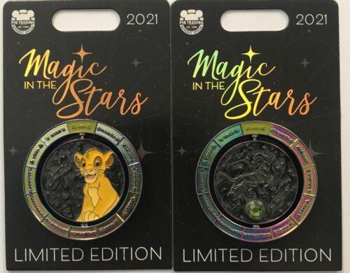 Disney Parks 2021 Magic In The Stars The Lion King Simba Leo LE Pin