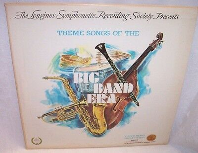 Longines Symphonette Presents Theme Songs of the Big Band Era Vinyl Record