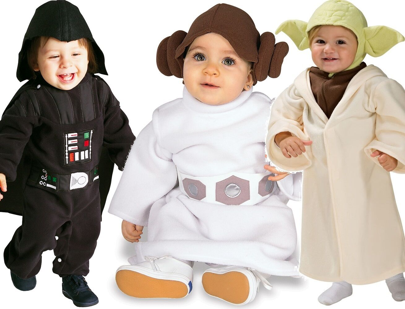 Cute Baby Girls Boys Star Wars Yoda Darth Vader Leia Fancy ...