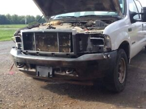 2002 f350 7.3 automatic parts truck