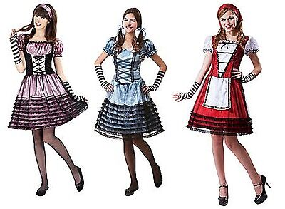 NWT SEXY WICKED WOMENS HALLOWEEN COSTUME - DOROTHY - GRETEL - LITTLE BO PEEP - Halloween Little Bo Peep Costume