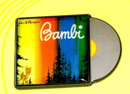Rare New LE Disney Pin✿ Classic Retro Art Record Album Bambi Movie Soundtrack LE