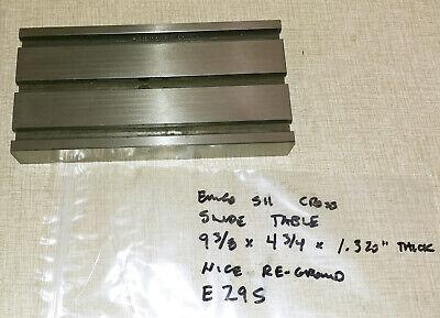 Emco Maximat Super 11 Lathe Cross Slide Table Pn 000030 E29s