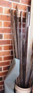 6 Wooden Sticks for growing plants