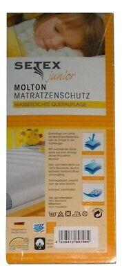 Setex junior Molton Matratzenschutz wasserdicht 50 x 90 cm Betteinlage