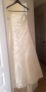 Ivory beaded Wedding dress in Milton ***** new price