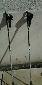 Pair of Excel nordic walking poles - BRAND NEW - bought as present but never used.