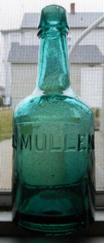 Slug Plate Light Green Jas Mullen Philadelphia Squat Soda Ale Bottle Free Ship