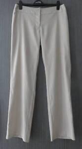 WOMANS SIZE 12 ELEGANT BONE PANTS PART LINEN Barnsley Lake Macquarie Area Preview