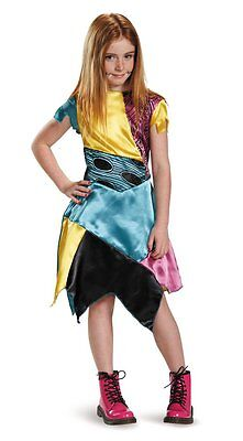 Nightmare Before Xmas Costumes (Nightmare Before Christmas - Sally Child Costume (New)