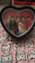 One Direction Heart Shaped Alarm Clock