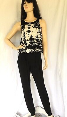 GYPSY05 MADE IN HOLLYWOOD SLIT Back Jumpsuit Size S NWT $264 RETAIL