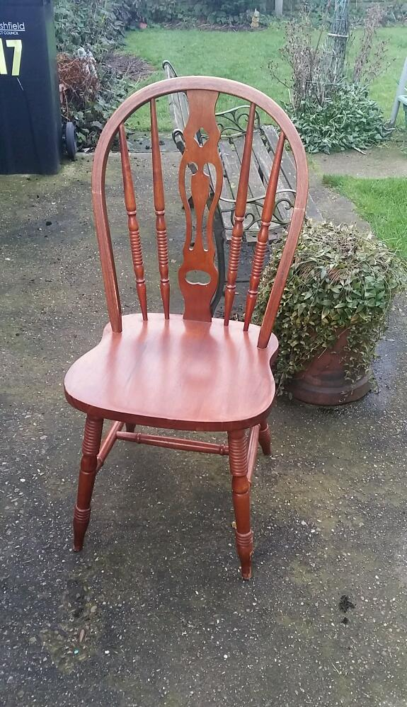 For Sale Set Of 4 Solid Wooden Kitchen Chairs In Kirkby In Ashfield Nottinghamshire Gumtree