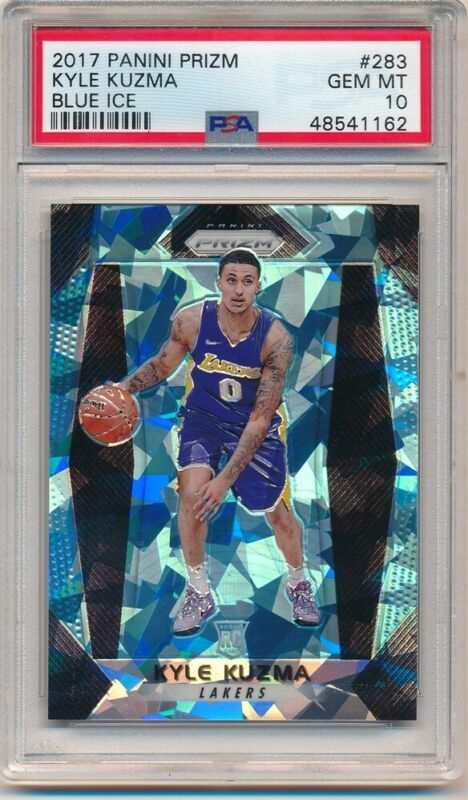 59 2018-19 PANINI PRIZM MOSAIC BASE KYLE KUZMA LAKERS NO