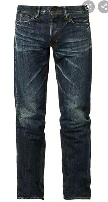 MASTERCRAFT UNION RELAXED TAPER JEANS MENS SIZE W33xL34