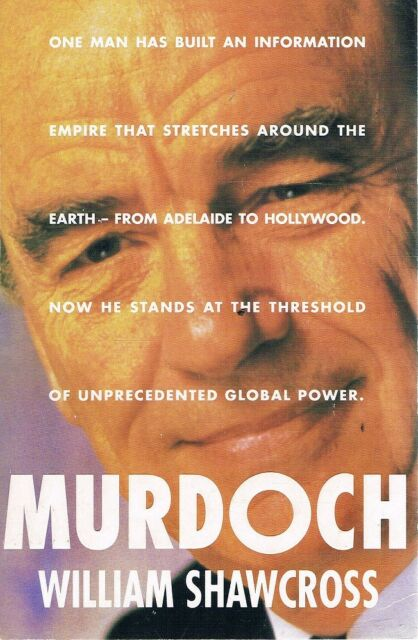Murdoch by Shawcross William - Book - Paperback - Biography Australian