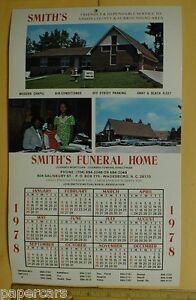 Smiths Funeral Home Black Run Wadesboro Anson County NC Mortuary