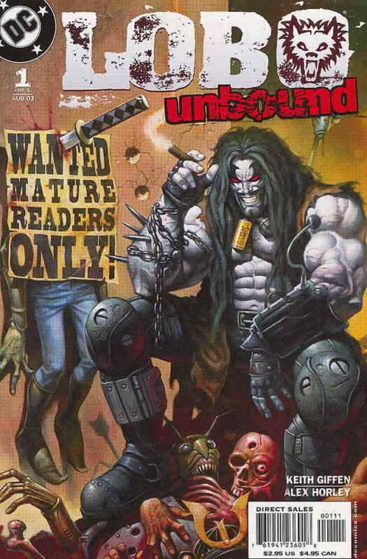 Lobo Unbound #1 VF/NM; DC | save on shipping - details inside