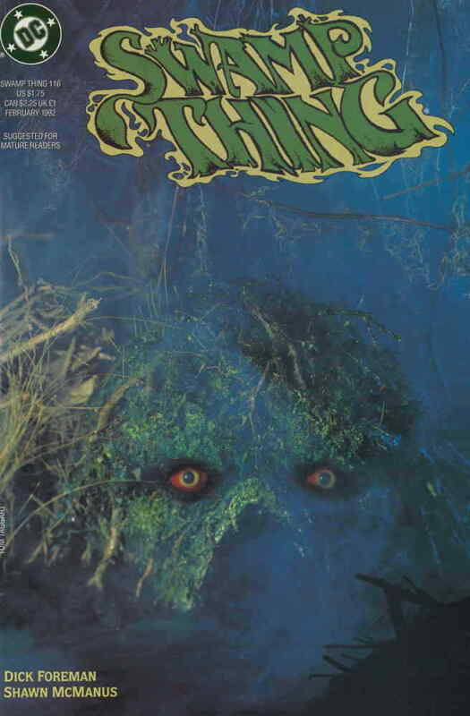 Swamp Thing (2nd Series) #116 VF/NM; DC | save on shipping - details inside